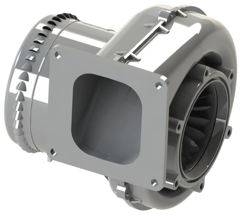 "AMETEK DFS Nautilair 8.9"" Blower for the combustion industry"